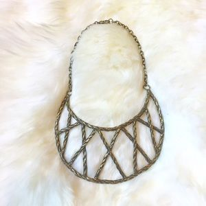 HPPamela Love Crescent Breast Plate Necklace