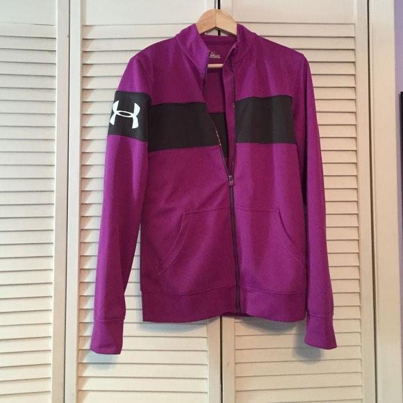under armour zip up jacket women s. women\u0027s ua hero full zip warm-up jacket under armour up women s d