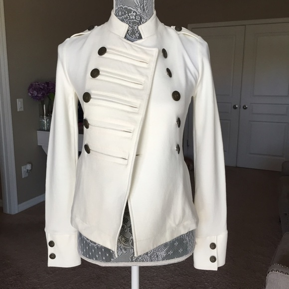 Find white military jacket at ShopStyle. Shop the latest collection of white military jacket from the most popular stores - all in one place.