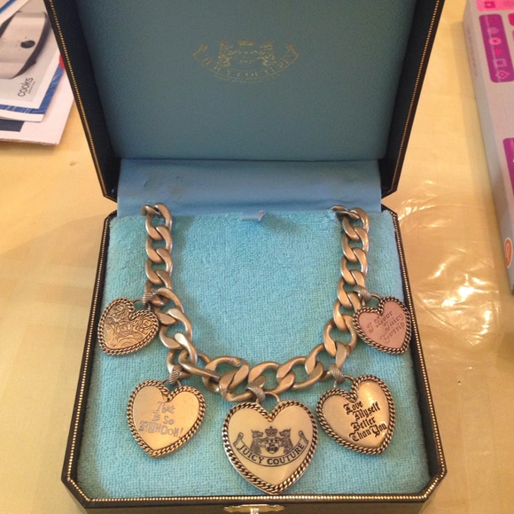 40 off juicy couture jewelry juicy couture heart charm