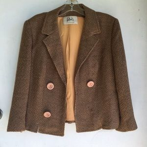 Bullock's vintage Tweed Wool Jacket