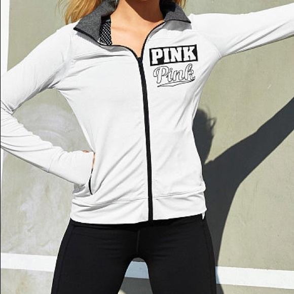 3c1d662e41474 PINK Victoria's Secret Jackets & Coats | Nwt Vs Ultimate Track ...
