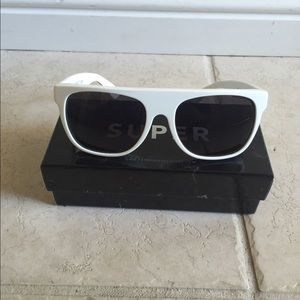 Super Sunglasses Accessories - Super retro future sunglasses ( white )
