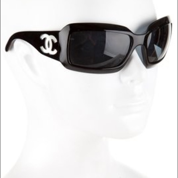 151425df842fc CHANEL Accessories - Chanel 5076 CC wrap sunglasses mother of pearl