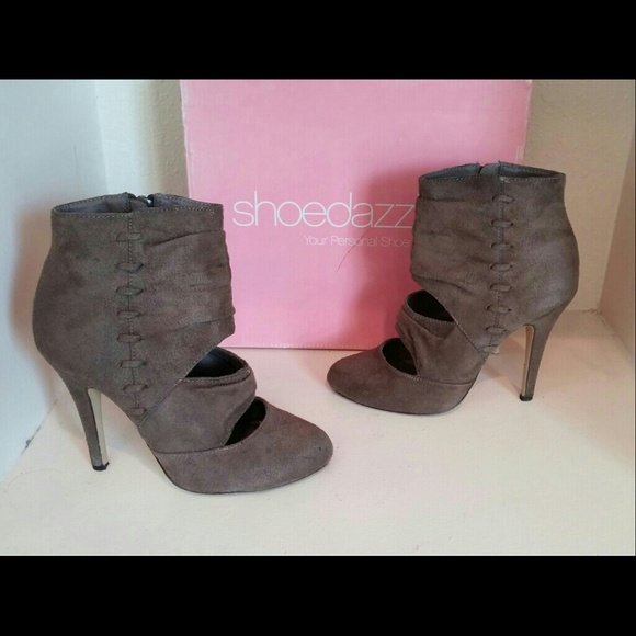 shoe dazzle shoe dazzle brown ankle boots from s