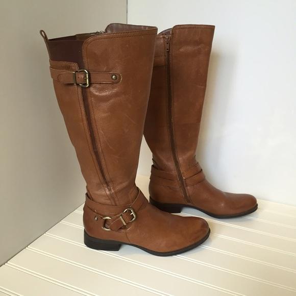 Naturalizer N5 comfort Jovana wide shaft boot