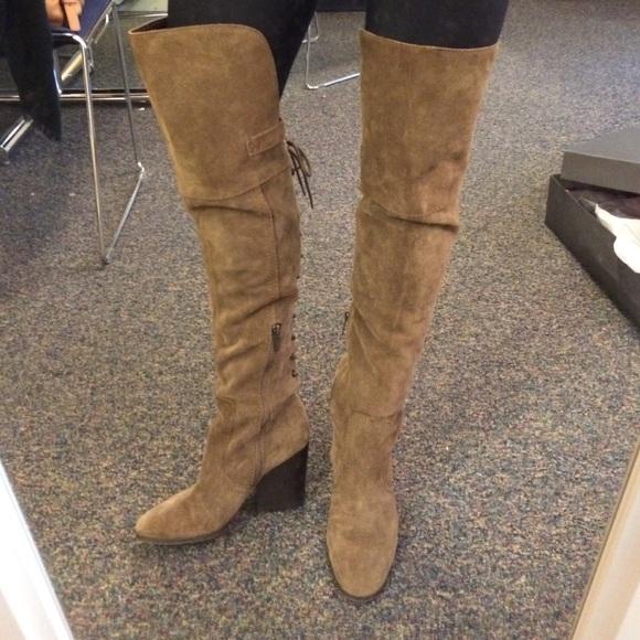 daee4ba84 Circus suede Sam Edelman thigh high boots