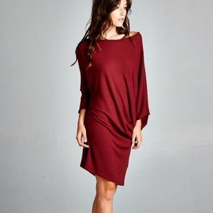 """Moment's Indulgence"" Slouchy Tunic or Dress"