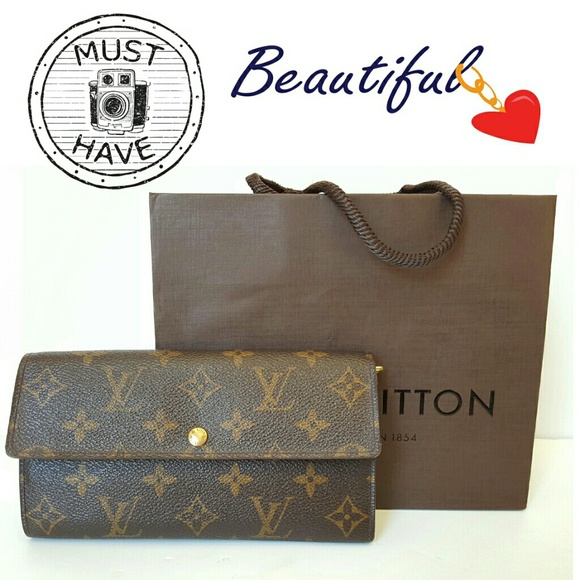 0e04b8af94281 Louis Vuitton Handbags - LOUIS VUITTON POCHETTE PORTE-MONNAIE WALLET