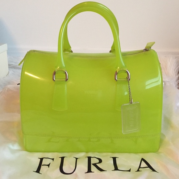 Bright Green Handbag | Luggage And Suitcases