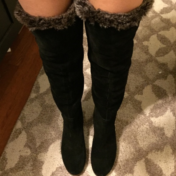 4ab81bd8779 Sam Edelman over the knee suede boots