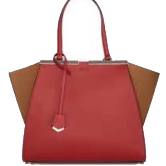5ca5845924ed Fendi 3jours large trapeze bag. New!