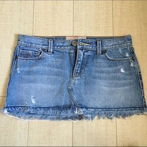 Hollister Dresses & Skirts - Mini denim skirt