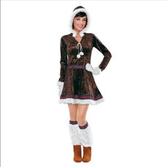 Eskimo Halloween costume  sc 1 st  Poshmark & Target Dresses   Eskimo Halloween Costume   Poshmark
