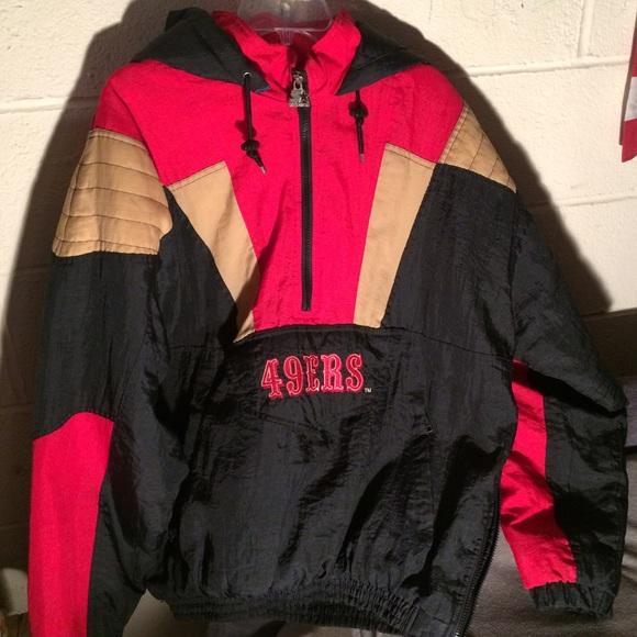 Vintage San Francisco 49ers starter jacket. M 561afc882de5121ef401f2e5 ca17d185eb