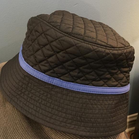 Lands End black bucket hat L XL 4c527c775c7