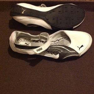 051e987d459 Puma Shoes - Puma speed princess ballerina white-black shoes