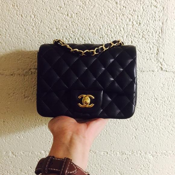 af7d3f49fc96 CHANEL Handbags - Chanel CF mini