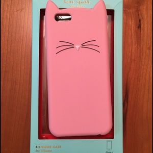 Kate Spade Cat Silicone iPhone 6 Case