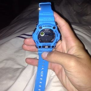Blue G-Shock PRICE NEGOTIABLE for sale