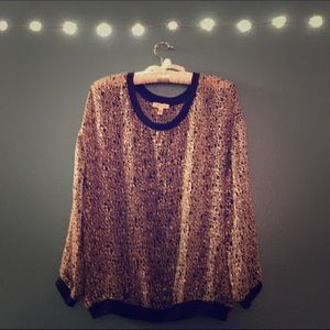 Sheer top from Urban Outfitters.