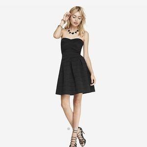 e2ce65f9227 Express Dresses - Express black strapless dress