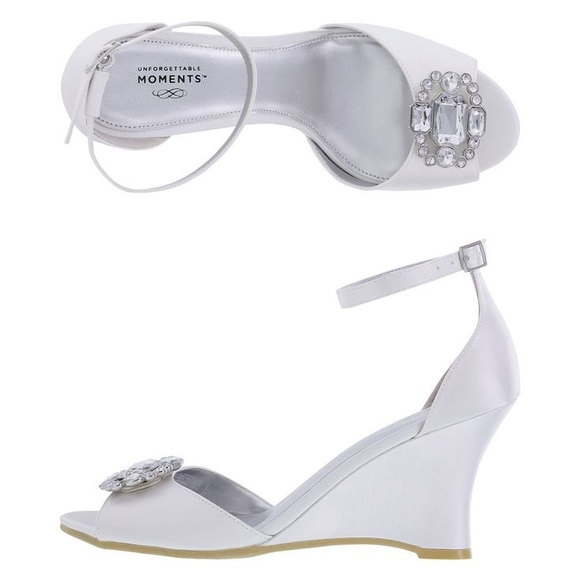 Joyful Wedge Heel Wedding Shoe