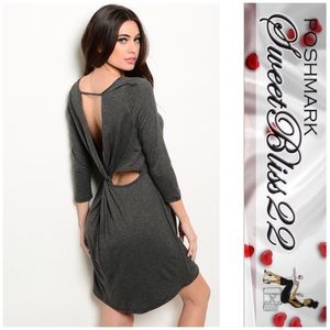 Dresses & Skirts - 🍭Now Available Stunning Gray Dress🍭