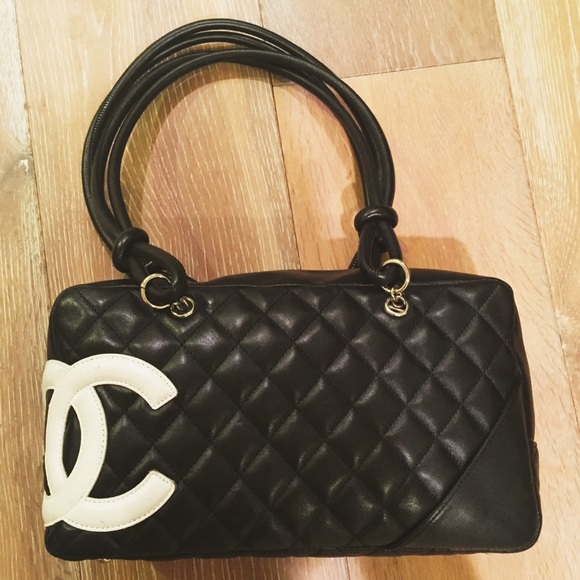 0de2818681c6 CHANEL Handbags - Black chanel cambon bowling bag