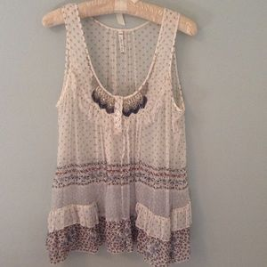 Anthropologie Beaded Baby Doll by Willow & Clay