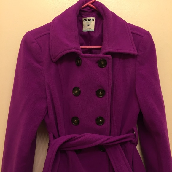 56% off Old Navy Jackets & Blazers - Purple Peacoat from Elsie's ...
