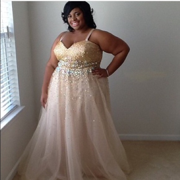 Davids Bridal Dresses | Plus Size Prom Dress | Poshmark