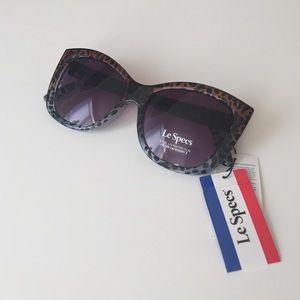 Le Specs Accessories - Let Specs sunglasses blue Cheetah gradient