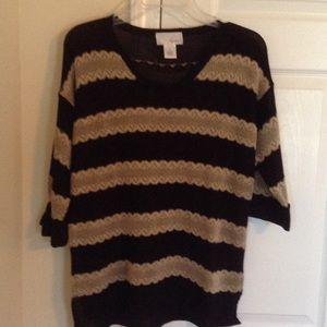 Spiegel Sweaters - SPIEGEL STRIPED SWEATER