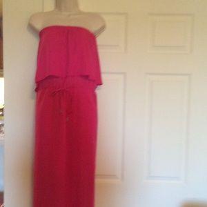 Beautiful Pink Maxi Dress NWOT