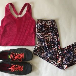 Nux Tops - NUX Paisley Pattern Workout Tank