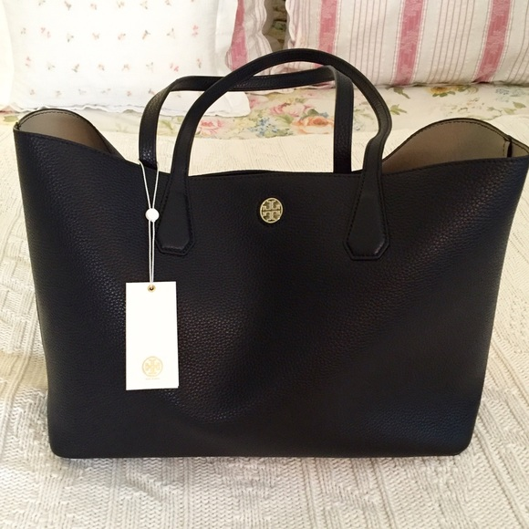 722ddf4fc59 Authentic Tory Burch Perry tote