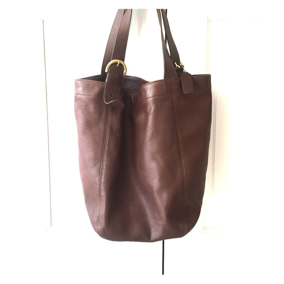 coach bags vintage soho style bucket bag dark brown poshmark rh poshmark com
