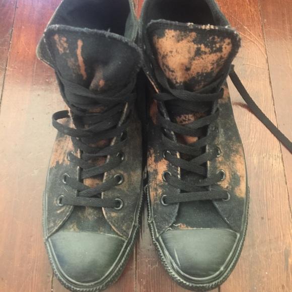 c4d07fd1a2c6 Converse Shoes - Converse Chuck Taylor Shoes Black   Bleach 10 12