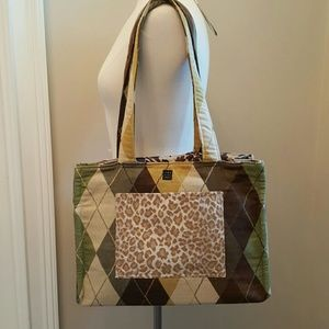 Unique Handmade Fabric Tote
