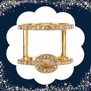 Jewelry - 🎄NWT Gorgeous Two For One Embellished Ring..