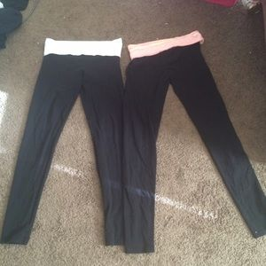 Victoria's Secret Other - Bundle VS straight leg yoga pants