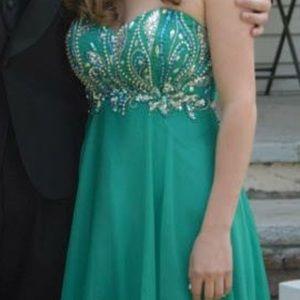 Tiffany Designs Dresses Jade Green Prom Dress Poshmark