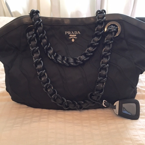 70f6f34aa10b Prada Handbags - ❗️LAST CHANCE❗️Prada Nylon & Leather Travel Tote