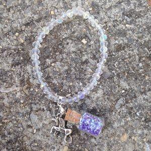 73v3n Jewelry - Unicorn & fairy dust bracelet