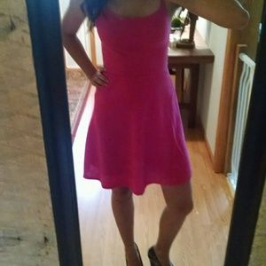 Bright pink Mossimo sundress
