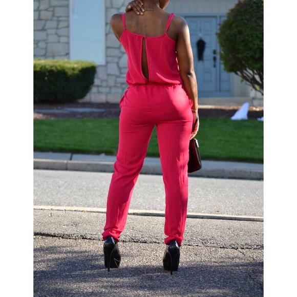 67% off H&M Pants - ❌Sold on Mercari❌Ruffled Sleeveless Jumpsuit ...