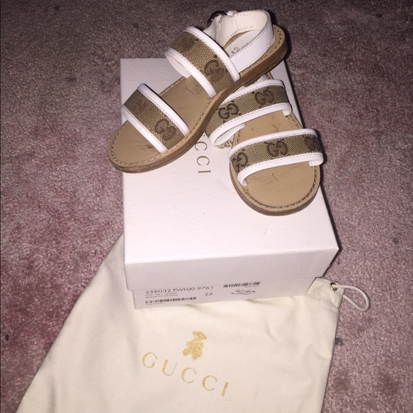 205b2111d9c Gucci Other - Toddler girls Gucci sandals