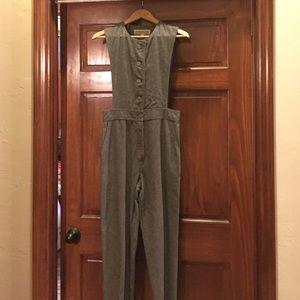 Vintage wool overalls