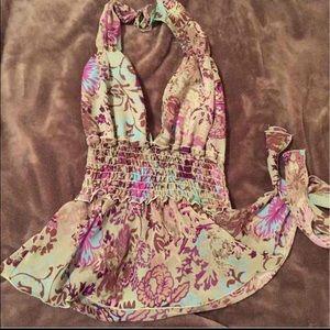 Rampage floral halter top